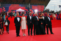Jury members of Moscow Film Festival Royalty Free Stock Photography