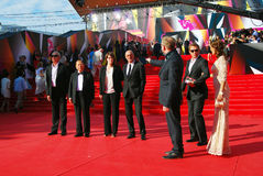 Jury members of Moscow Film Festival Stock Photo