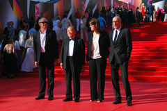 Jury members of Moscow Film Festival Stock Images