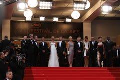 Jury members and Robert De Niro Royalty Free Stock Photo
