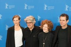 Jury members of 68th edition of the Berlinale Film Festival 2018. Berlin, Germany - February 15, 2018: Jury members of 68th edition of the Berlinale Film Stock Images