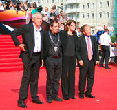 Jury of Moscow Film Festival Royalty Free Stock Photos