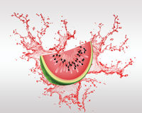 Jus Backround de fruit frais et de fruit Photos libres de droits