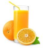 Jus d'orange stock afbeeldingen