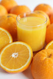 Jus d'orange stock fotografie