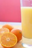 Jus d'orange Stock Foto