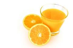 Jus d'orange Royalty-vrije Stock Foto