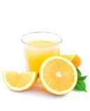Jus d'orange Photographie stock