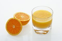 Jus d'orange. photographie stock