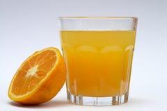 Jus d'orange Stock Foto's