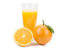 Jus d'orange Images stock