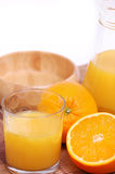 Jus d'orange Photographie stock