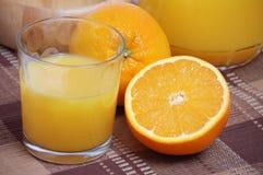 Jus d'orange Images libres de droits