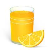 Jus d'orange Illustration de Vecteur