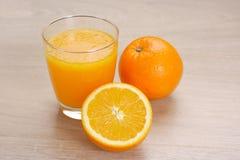Jus d'orange photo stock