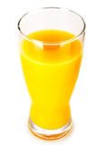 Jus d'orange d'isolement Photo libre de droits