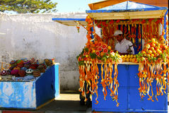 Jus d'orange, Essaouira Images stock