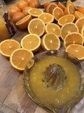 Jus d'orange fait maison photographie stock libre de droits