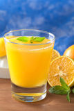 Jus d'orange frais Photos libres de droits