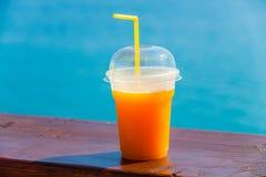 Jus d'orange frais Image libre de droits