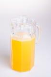 Jus d'orange Jus d'orange sur le fond jus d'orange sur un dos Images libres de droits