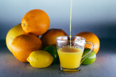 Jus d'orange, jus, orange Image stock