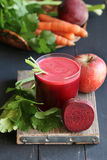 Jus de betteraves Photo stock