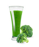 Jus de brocoli Photo stock