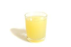 Jus de canne à sucre le fond blanc Photo stock