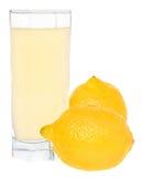 Jus de citron. Photo stock