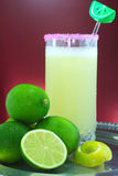 Jus de citron photo stock