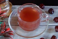 Jus de fraise, l'eau, fleur, groseille à maquereau photographie stock
