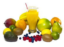 Jus de fruit Photos libres de droits