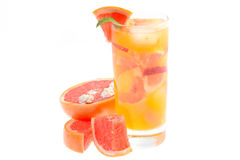 Jus de fruit frais Images stock