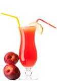 Jus de fruit frais Photos libres de droits