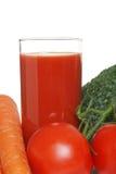 Jus de légumes de plan rapproché Image stock
