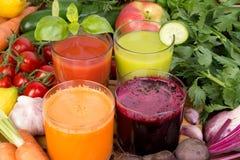 Jus de légumes Image libre de droits