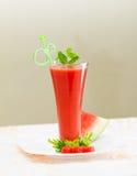 Jus de melon d'eau Photographie stock libre de droits