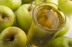 Jus de pomme Photographie stock libre de droits