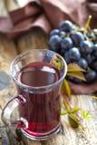 Jus de raisins photographie stock