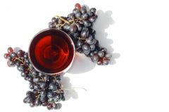 Jus de raisins Photos stock