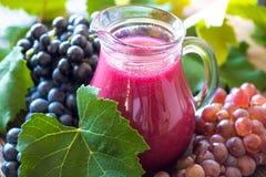 Jus de raisins frais Photos libres de droits
