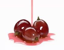 Jus de raisins pur. Photo libre de droits