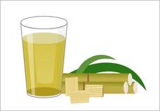 Jus de Sugar Cane Images libres de droits