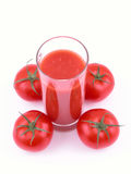 Jus de tomates images stock