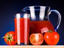 Jus de tomates Photos libres de droits