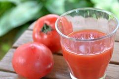 Jus de tomates photographie stock libre de droits