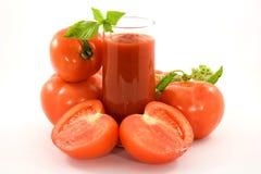 Jus de tomates Photo libre de droits
