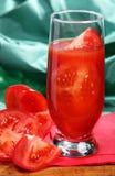 Jus de tomates Image stock