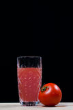 Jus de tomates. fruit. soude. boisson Images stock